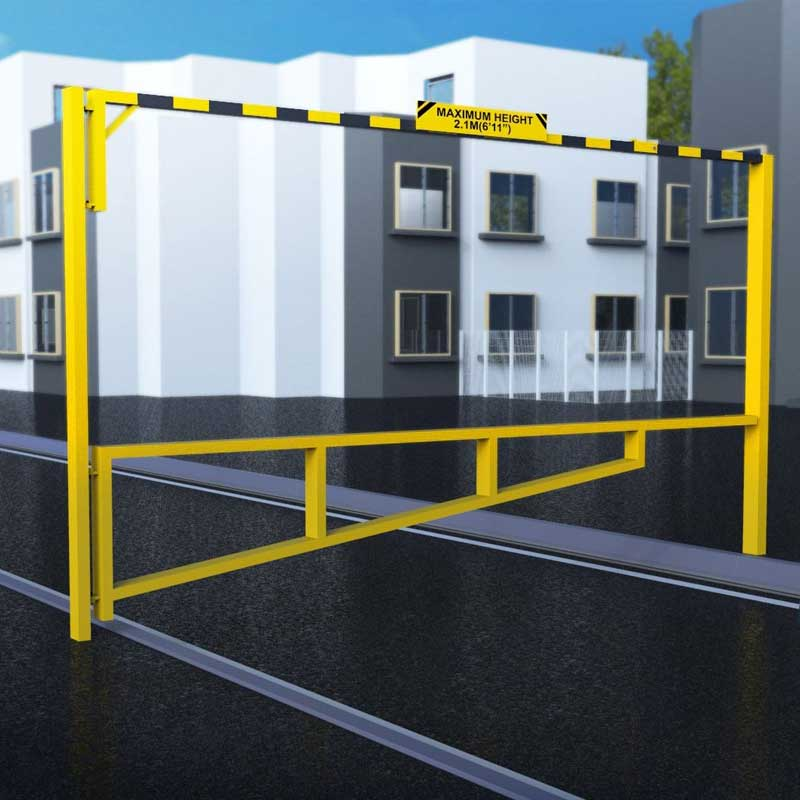 Combined Height Restrictor & Swing Gate