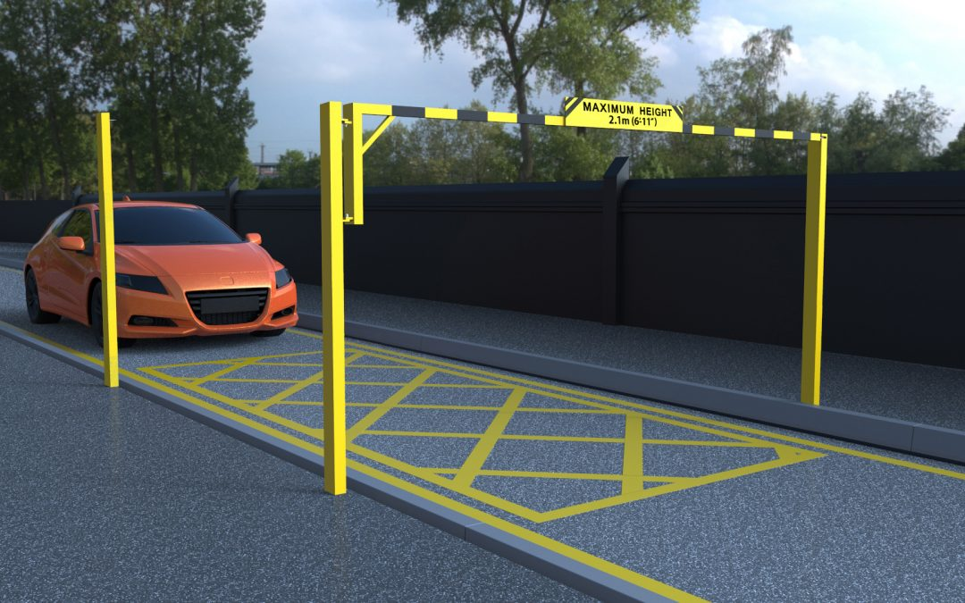 Car Park Entrance Restrictor Barrier