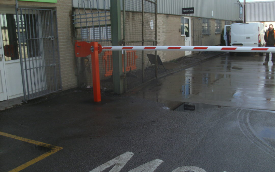 Manual Car Park Barriers Security Barriers